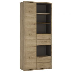 Shetland Tall Wide Bookcase 2