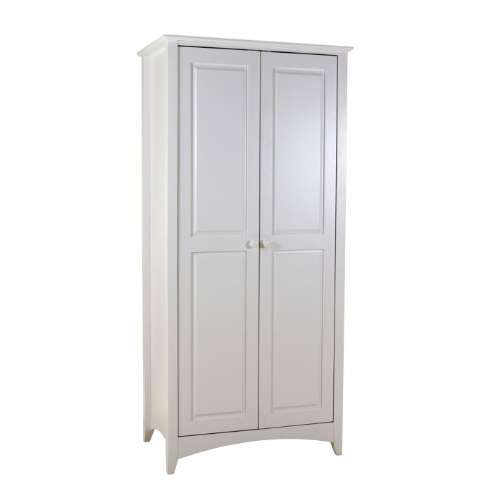 Chelsea White Wardrobe 2 Door