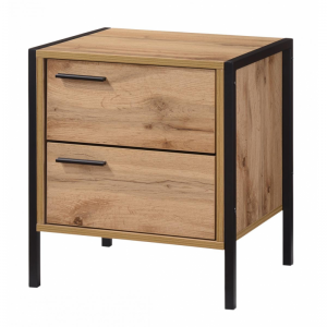 Michigan Nightstand 2 Drawer