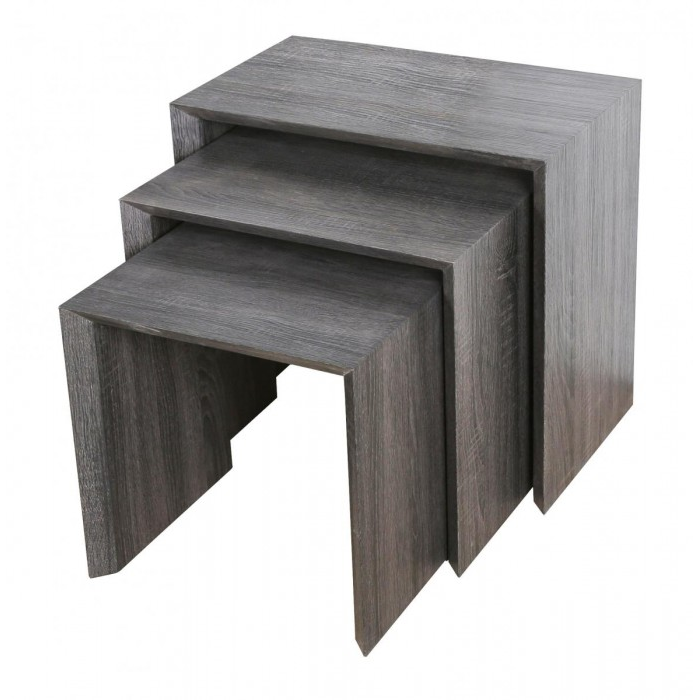 Forrest Nest of Tables Walnut