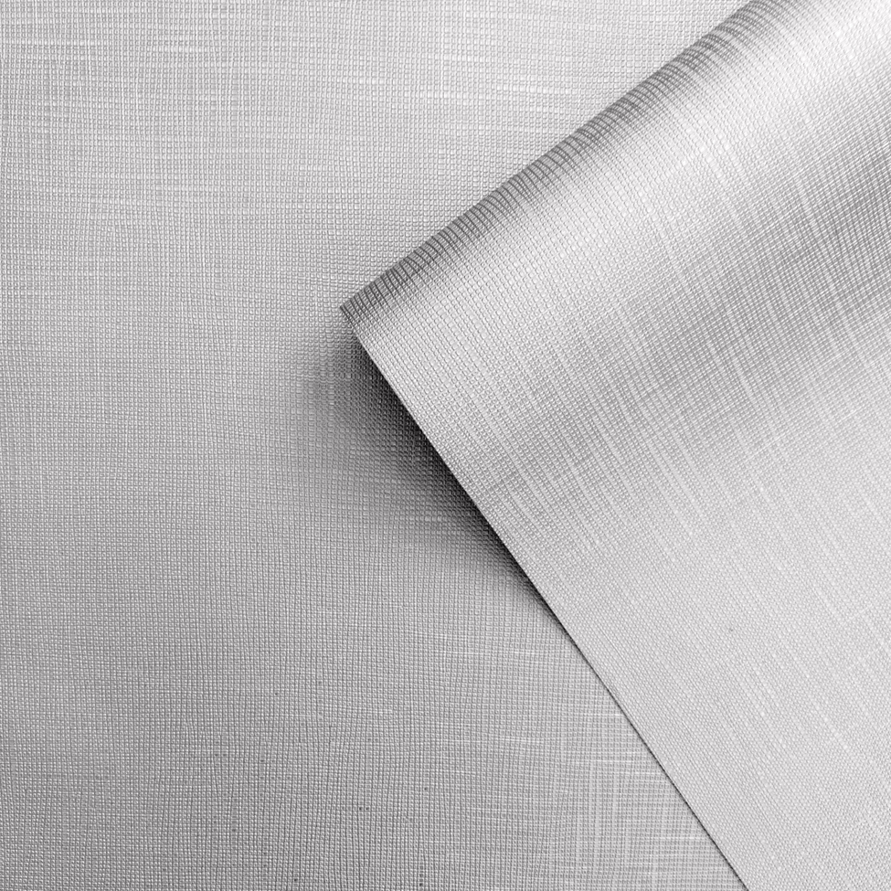 Muriva Faustine Texture Silver Wallpaper
