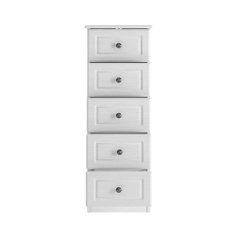 Hampshire 5 drawer narrow chest