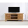 Cambridge 120cm Oak TV Unit