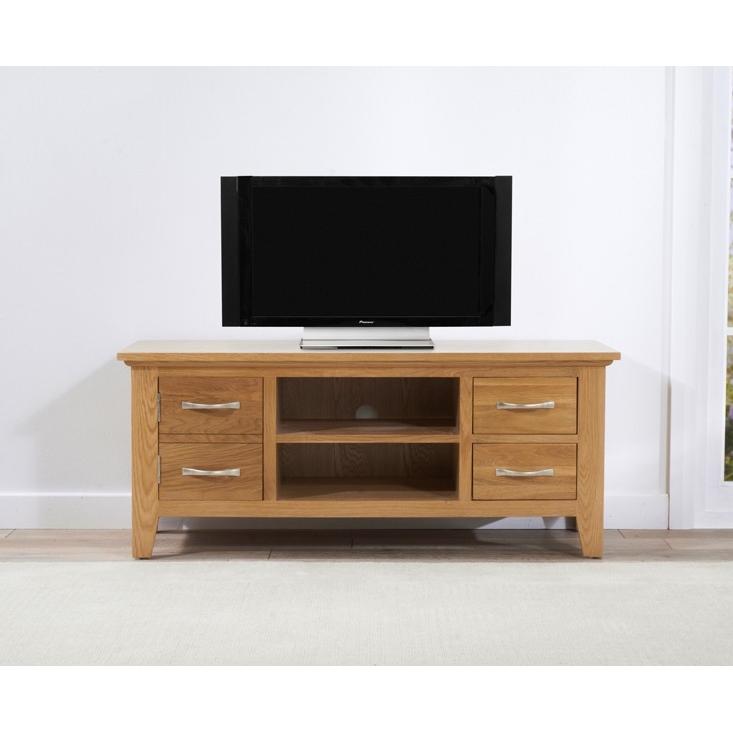Cambridge Oak TV Unit