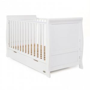 Obaby Stamford Cot Bed - White
