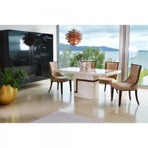 Filippo Dining Table + 4 Marcello BE