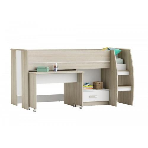 Furniture Amelia Mid Sleeper