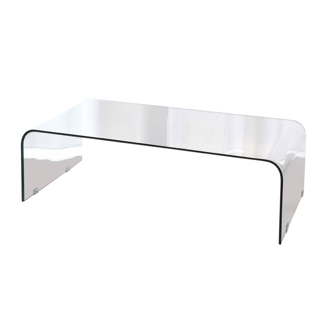 Living Room Azurro Glass Coffee Table
