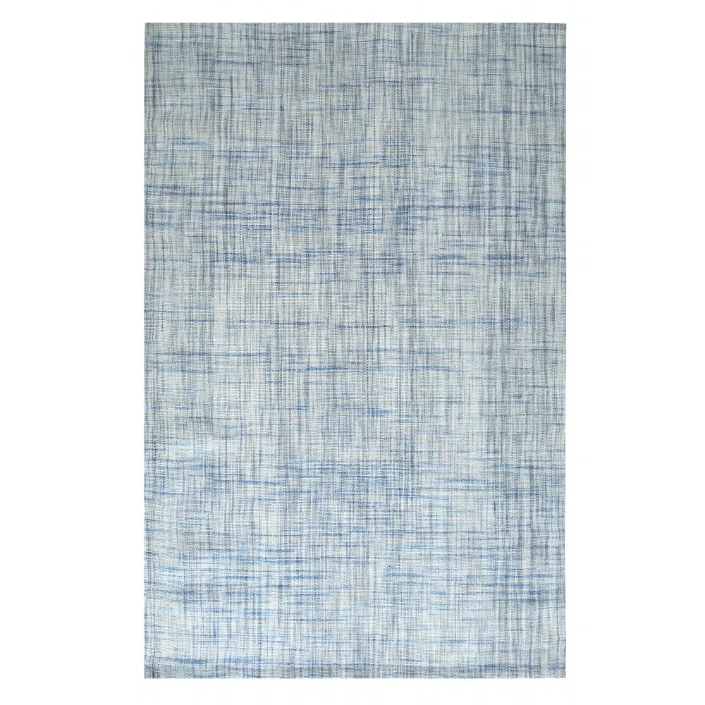 Hamilton Hand-Woven Wool Rug (Colour: Blue, Rug Size: 160 x 230)