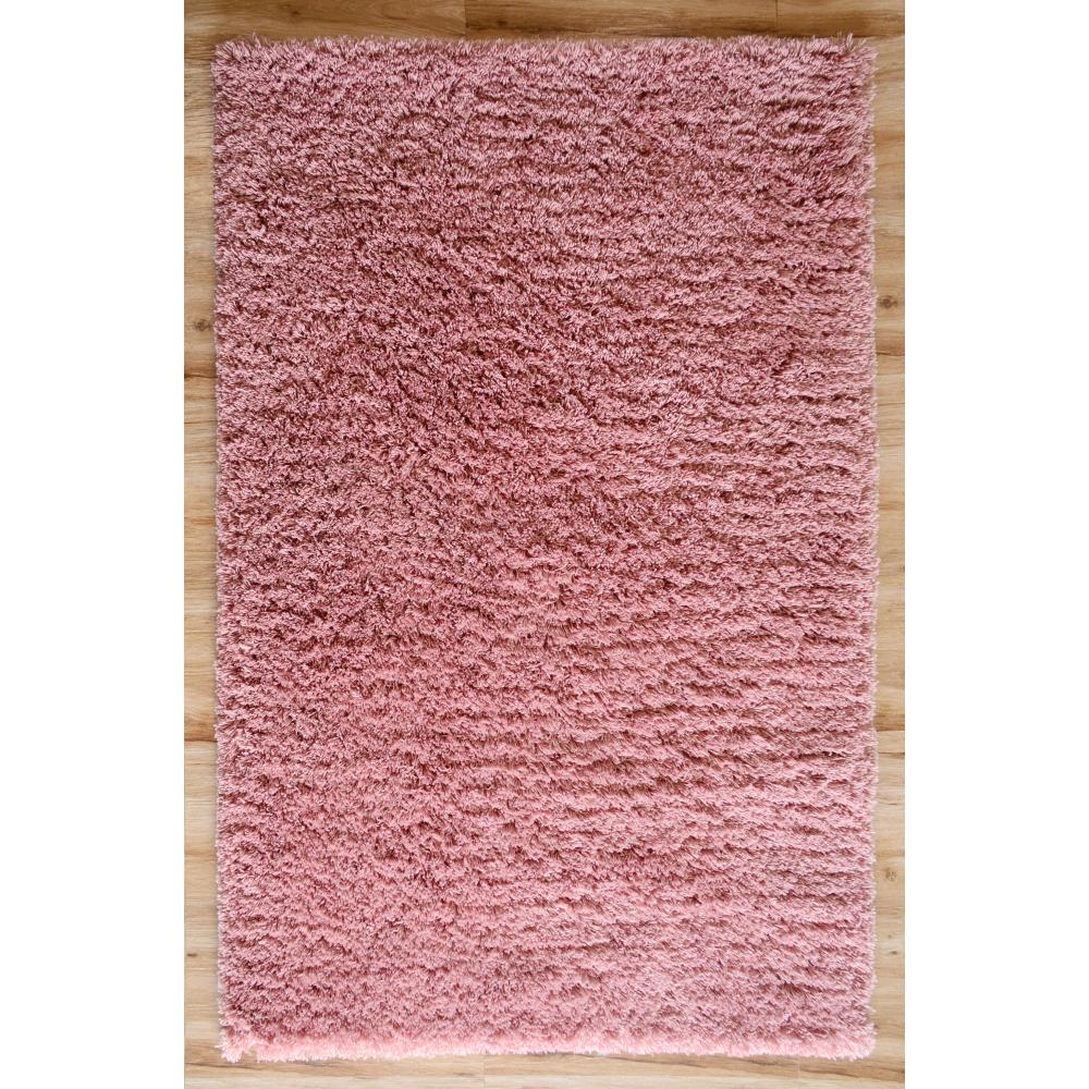 Karma Shaggy Loom-Tufted Rug (Colour: Pink, Rug Size: 160 x 230)