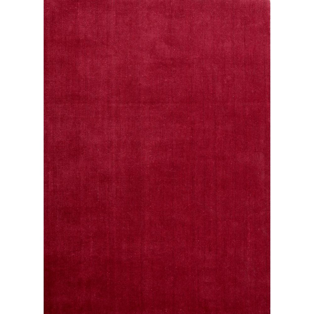 Meadows Handloom Wool Rug (Colour: Burgundy, Rug Size: 160 x 230)
