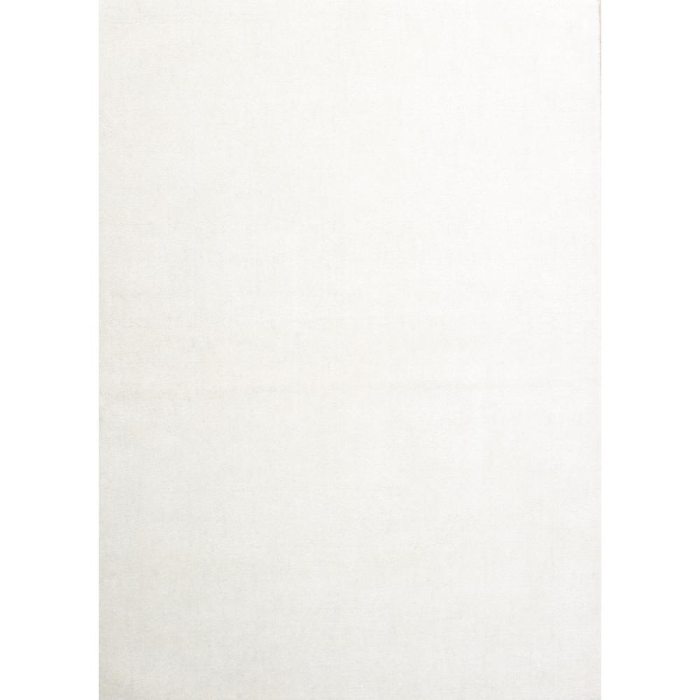 Meadows Handloom Wool Rug (Colour: Cream, Rug Size: 160 x 230)
