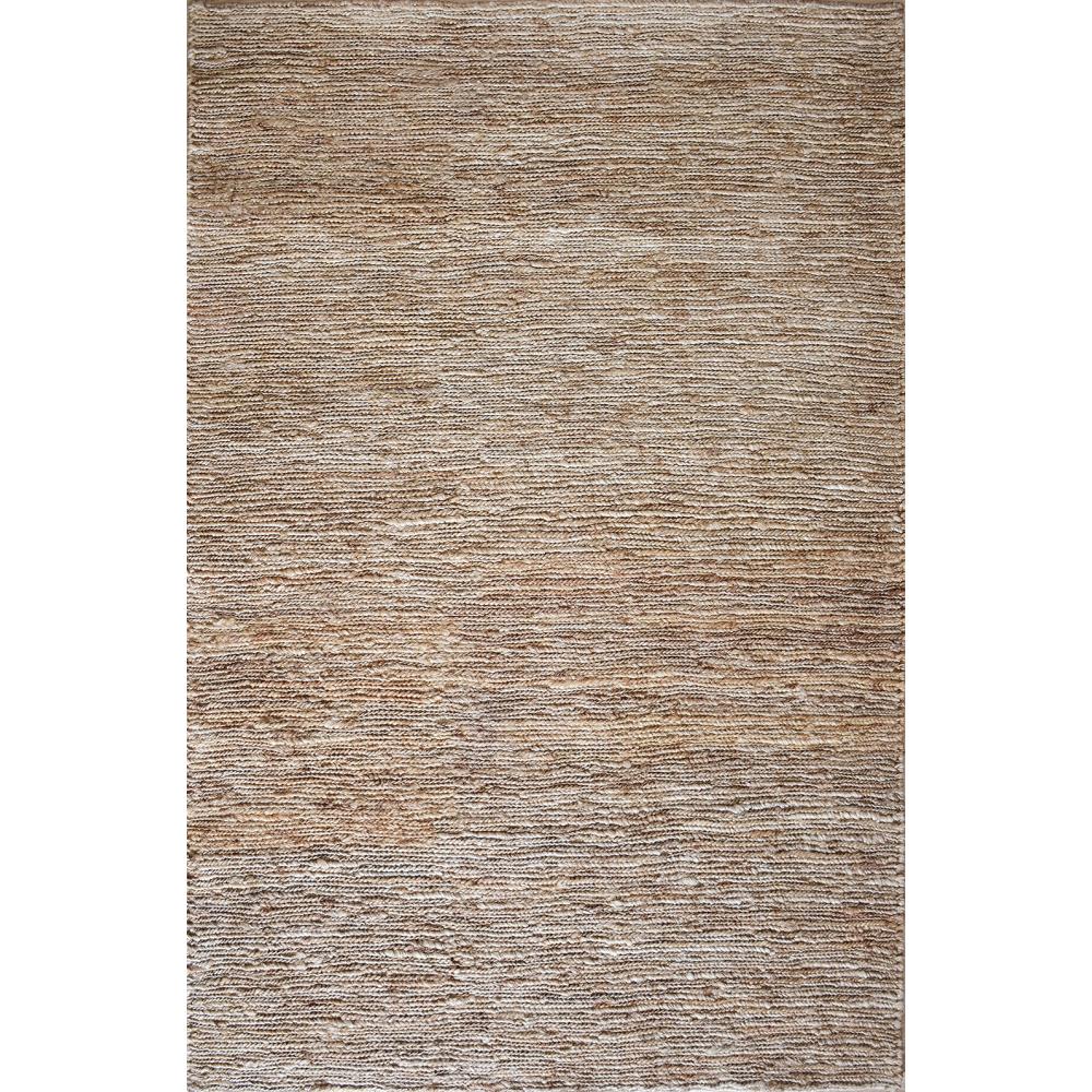 Natural Hand-Woven Flatweave Rug (Rug Size: 160 x 230, Design: Plaid)