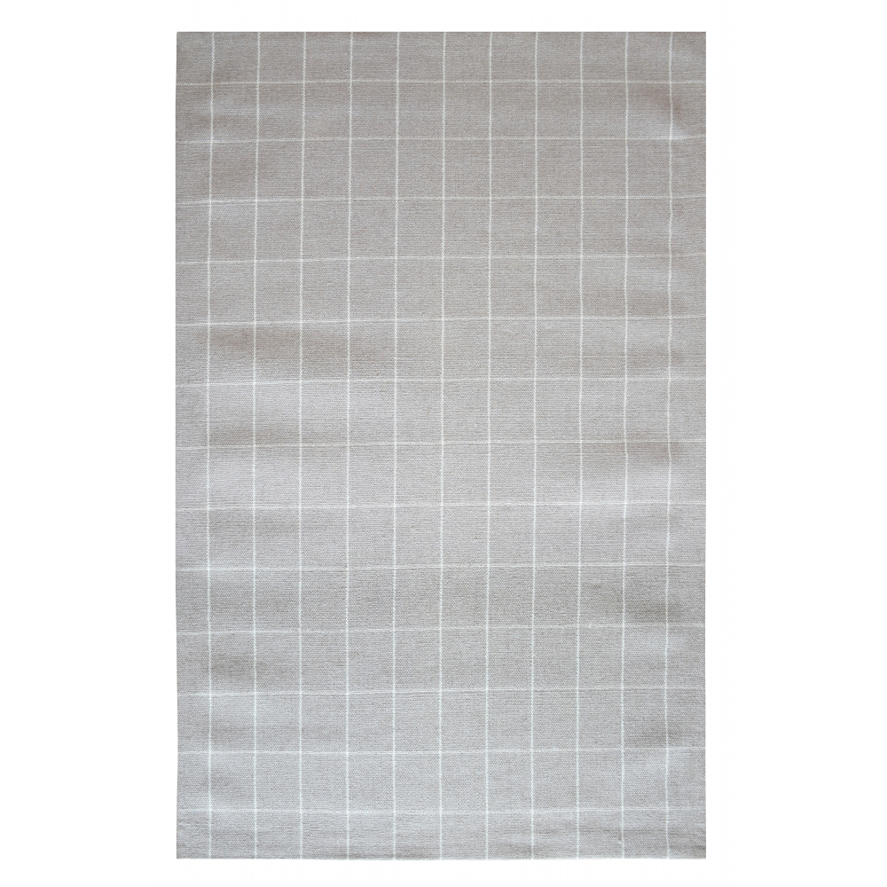 Newcastle Hand-Woven Wool Rug (Colour: Doeskin, Rug Size: 160 x 230)