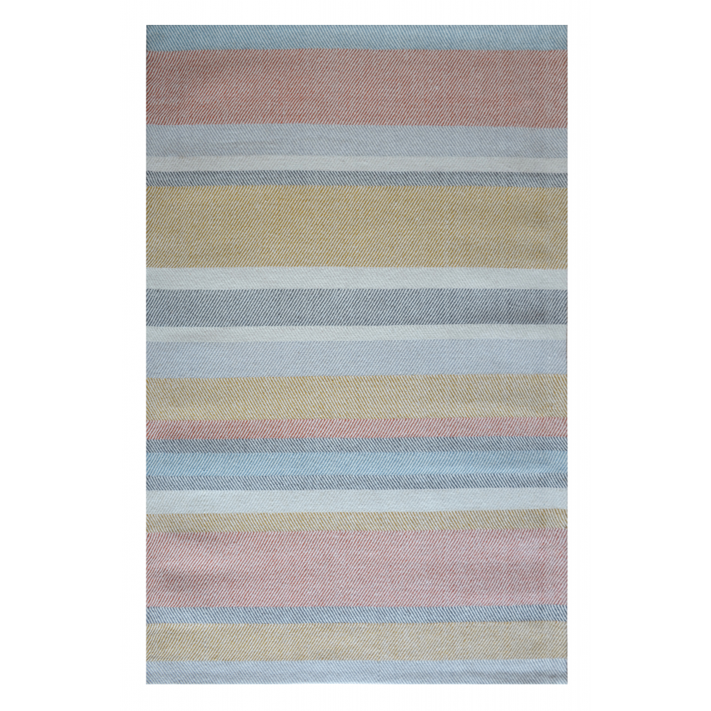 Norwich Hand-Woven Wool Rug (Colour: Ochre, Rug Size: 160 x 230)