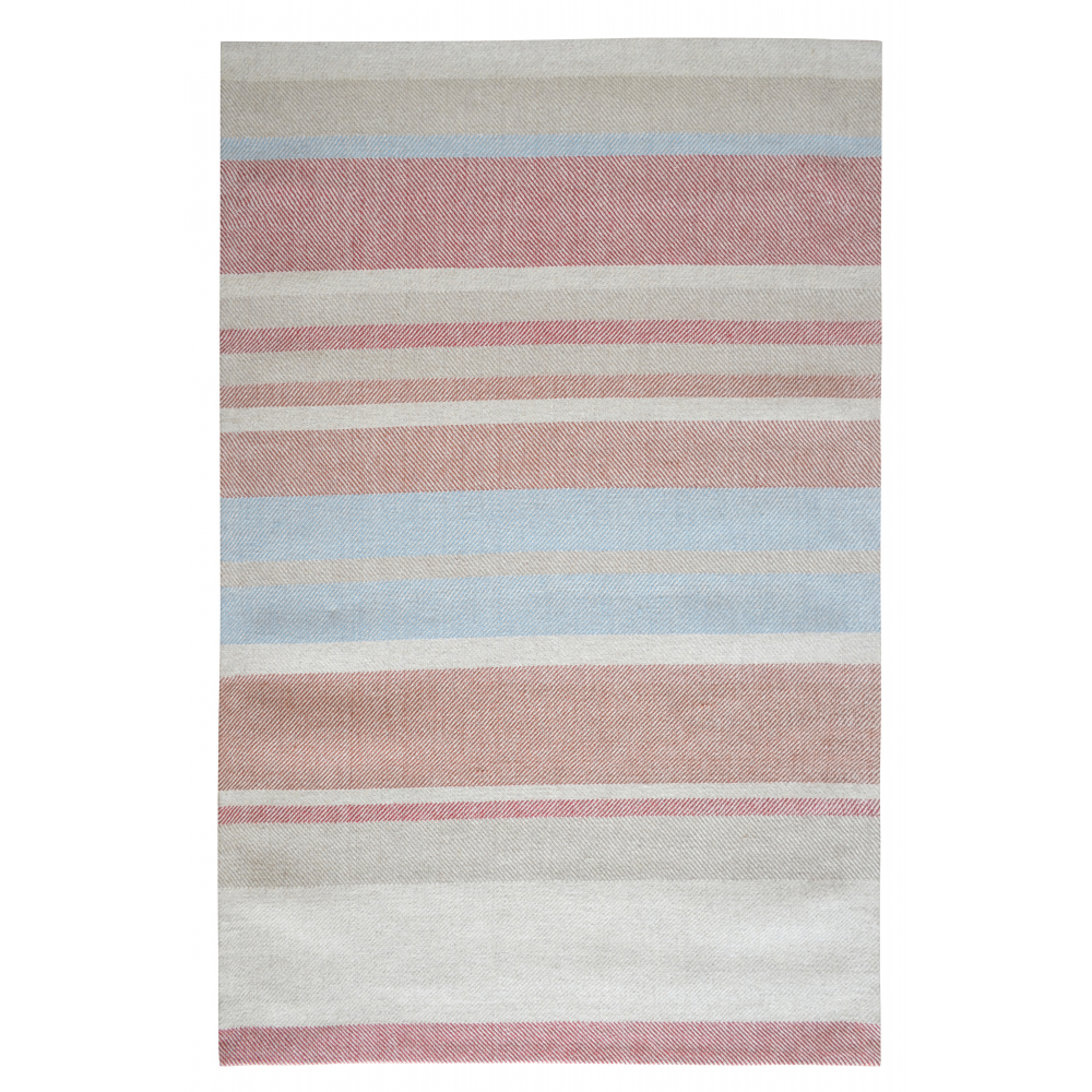 Norwich Hand-Woven Wool Rug (Colour: Red, Rug Size: 160 x 230)