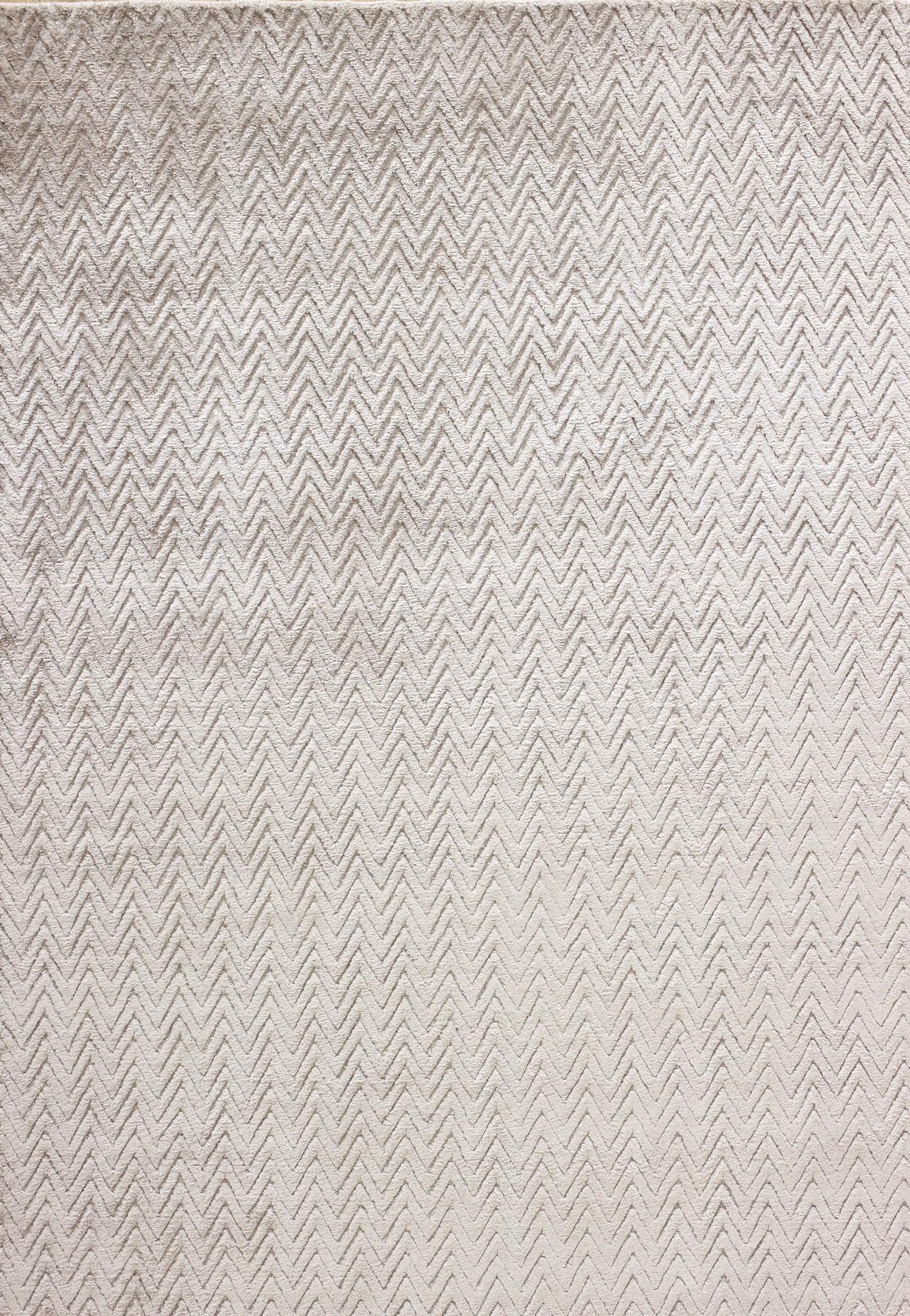 Peaks Handloom Rug (Colour: Silver, Rug Size: 160 x 230)