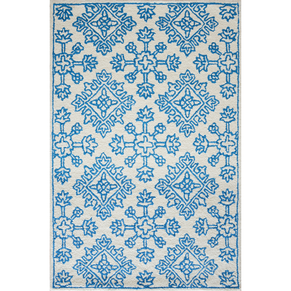 Zara Hand-Tufted Wool Rug (Rug Size: 160 x 230, Colour: Turquoise)