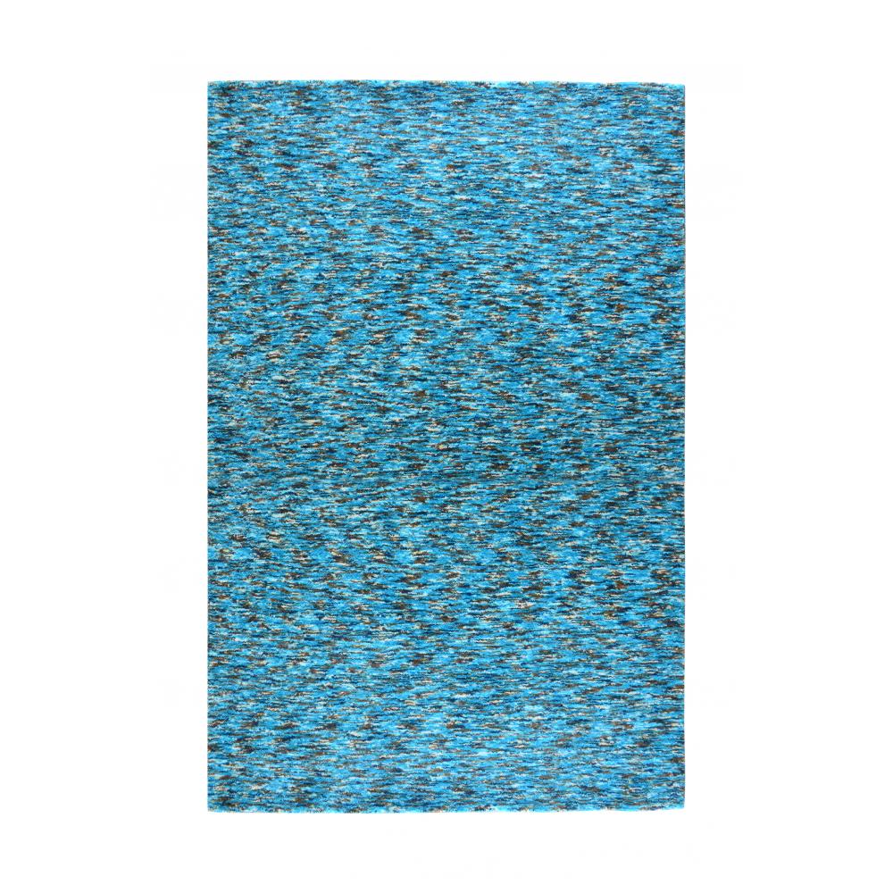 Zen Handloom Wool Rug (Colour: Teal, Rug Size: 160 x 230)