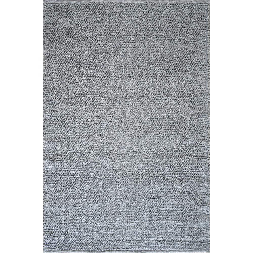 Zola Hand-Woven Flatweave Rug (Rug Size: 160 x 230, Colour: Grey)
