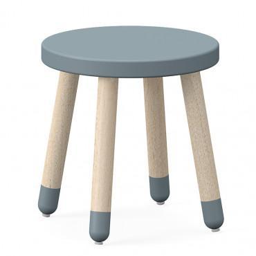 flexa play stool light blue