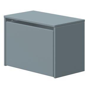 flexa storage bench blue