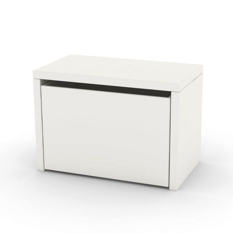 flexa storage bench white