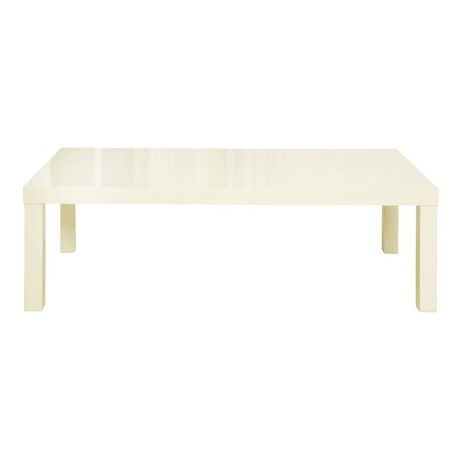 Puro High Gloss Coffee Table (Colour: Cream)