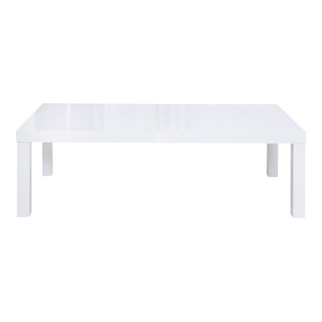 Puro High Gloss Coffee Table (Colour: White)
