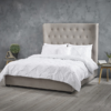 Belgravia Cappuccino Double Bed LifeStyle