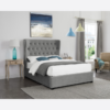 Belgravia Grey Double Bed LifeStyle