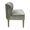 Bella 2 Seater Sofa Steel-Grey side