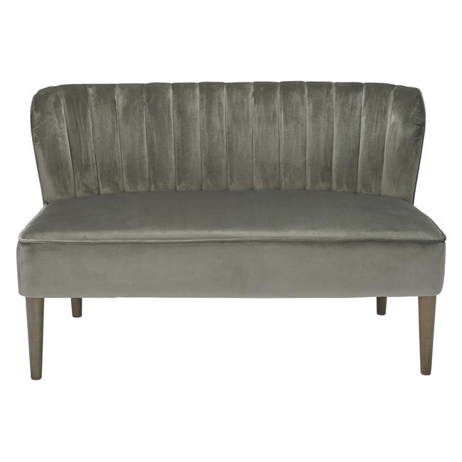 Bella 2 Seater Sofa Steel Grey