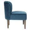 Bella Chair Midnight Blue side