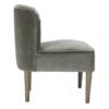 Bella Chair Steel Grey side