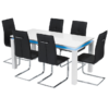 Milano Dining Table White