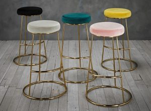 Opera Bar Stool Yellow LifeStyle