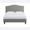 Sorrento Kingsize Bed Cappuccino front