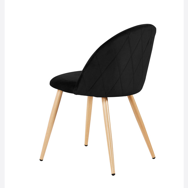 Venice Dining Chairs Black back