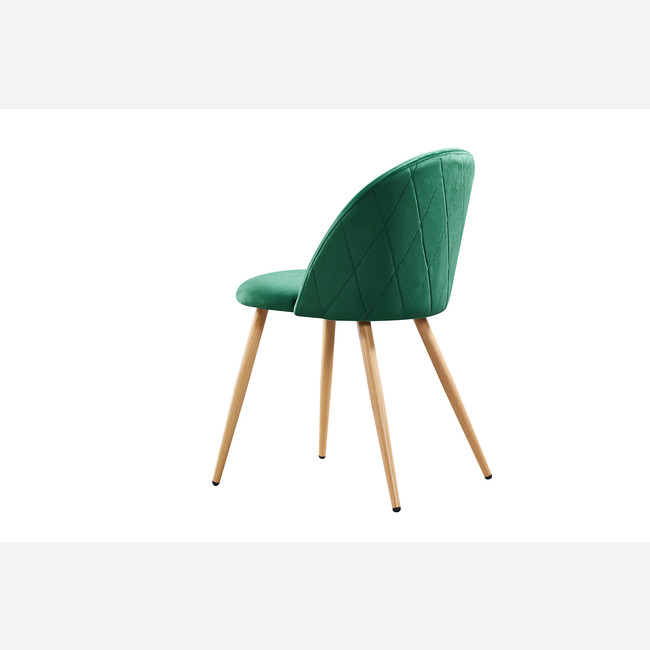 Venice Dining Chairs Green back