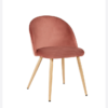 Venice Dining Chairs Pink