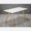 Venice White Dining Table