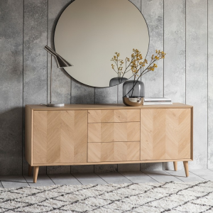 Gallery Direct Milano 2 Door 3 Drawer Sideboard