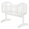 Obaby-Sophie-Swinging-Crib-White