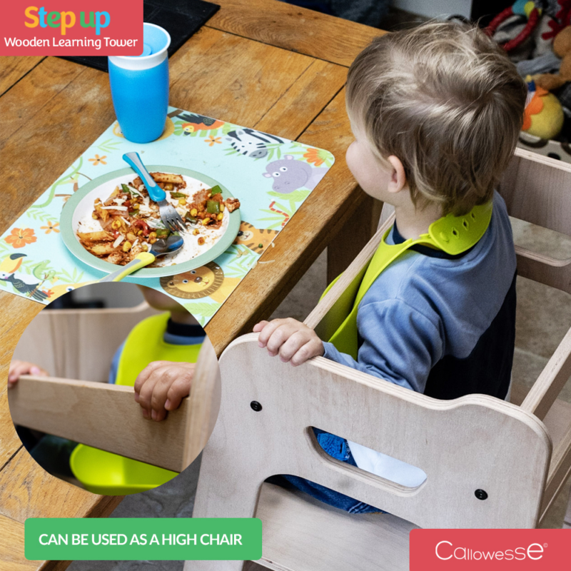 Callowesse Step-Up Learning Tower High Chair