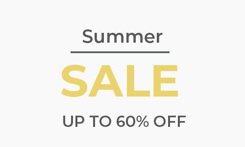 Summer Sale Banner Sale Page